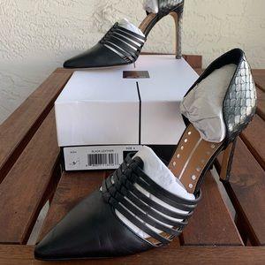 Stylish black shoes